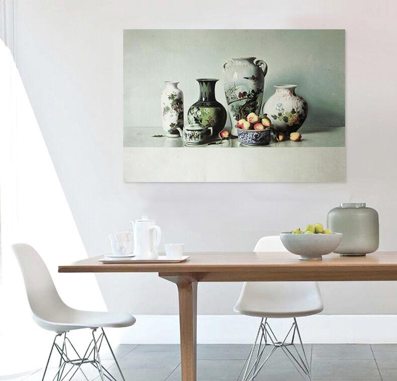 3D ltere Klassische Vase 8564 Fototapeten Wandbild BildTapete AJSTORE DE Lemon