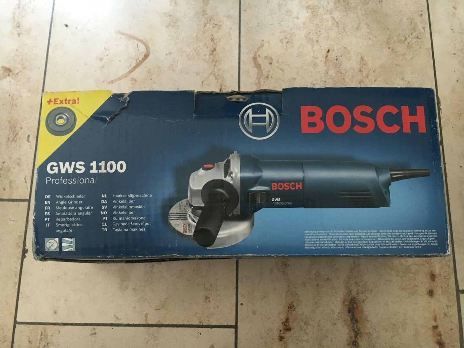Bosch Professional GWS 1100 Winkelschleifer