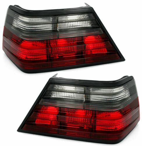 red smoked finish rear tail light FOR MERCEDES W124 E-Class 85-95