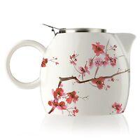 Tea Forte Pugg Ceramic 24oz Teapot - Cherry Blossoms