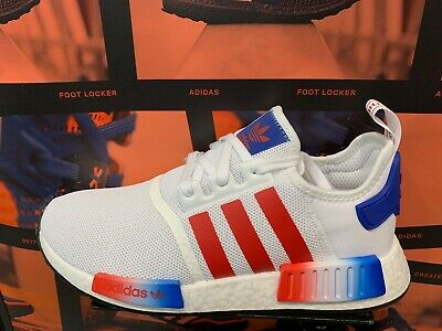 premium selection 0f2e4 18ae5 adidas NMD R1 USA 2019 Americana White Red Blue GS Men Sz 4Y-13 New Limited  | eBay