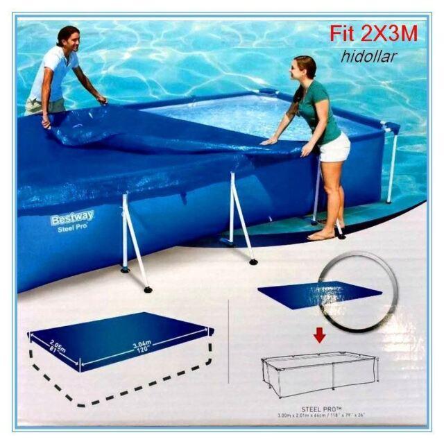 Bestway 118 x 79-inch Pool Cover