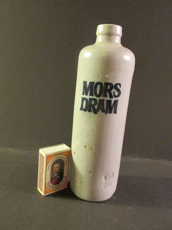 Keramik, Mors dram - flaske., uden
