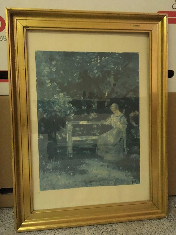 Tryk, Helga Ancher