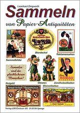 L. Dingwerth: Sammeln von Papier-Antiquitäten: Weinetiketten u.a. Sammelbilder