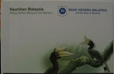 Malaysia Latest Series Banknotes RM1 & RM5 in folder AA 0065175