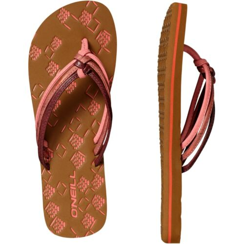 O'Neill 3 STRAP DITSY - T-bar sandals - hot coral gRwn3o4
