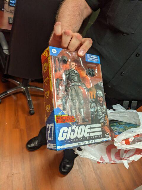 GI Joe Classified Series Major Bludd #27 Exclusive Cobra Island - NEW In Hand