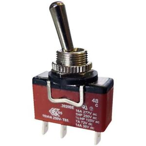 Arcolectric C 1511 VB AAA AA Rocker Switch Momentary SPST On-On 250V AC 16A