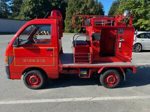 Rare 1994 Daihatsu Hijet Tokyo Fire Truck with low kms!
