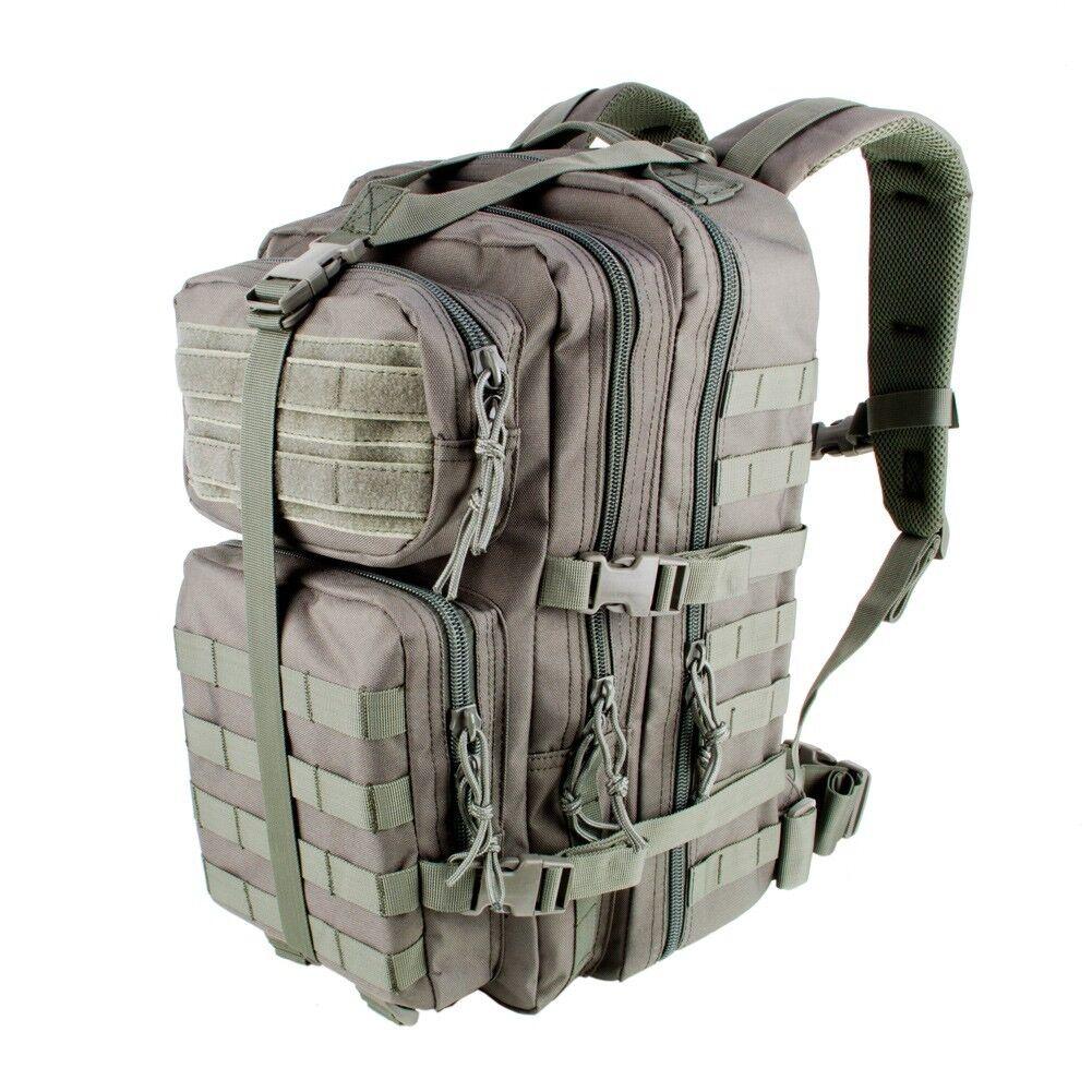3V Gear VELOX II Tactical Assault Back Pack Zaino colore Grigio-giornataccia Borsa
