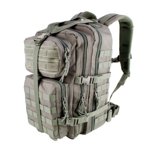 3V GEAR VELOX II TACTICAL ASSAULT BACK PACK GREY COLOUR RUCKSACK TOUGH DAY BAG
