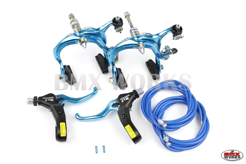 Genuine Dia-Compe Bmx MX883 calibre y MX2 Conjunto  De Freno De Palanca Brillante Azul  barato