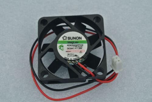 SUNON KDE2404PFVX DC Fan 4cm 4010 24V 1.9W x1pcs