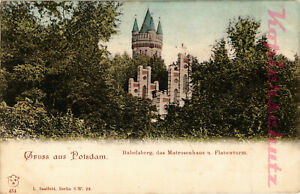 AK-Potsdam-Babelsberg-Das-Matrosenhaus-und-Flatowturm-11-10
