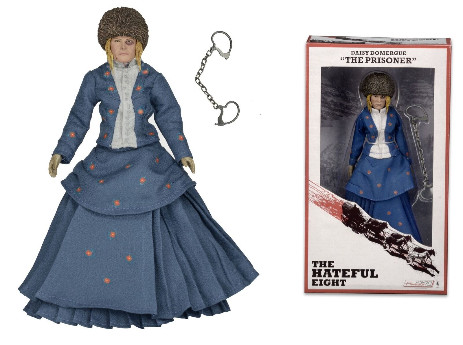 NECA The Hateful Eight Daisy Domergue (The Prisoner) – 8