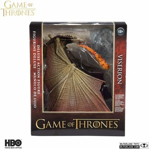 VERSION 2 Game of Thrones Viserion 2 Deluxe Box McFarlane Toys