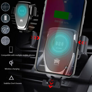For-Samsung-Note-10-Plus-Wireless-Car-Charger-Fast-Charging-Automatic-Clamping