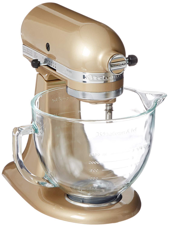 Brand New KitchenAid 5Qt Designer Mixer- Champagne or