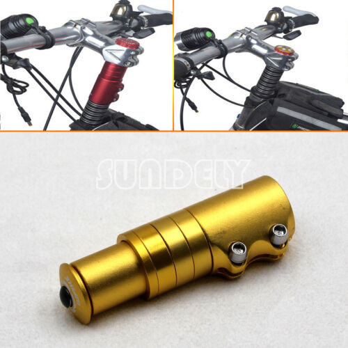 Alloy CNC Handlebar Fork Stem Riser Bicycle Bike Rise Up Extender Head Adaptor