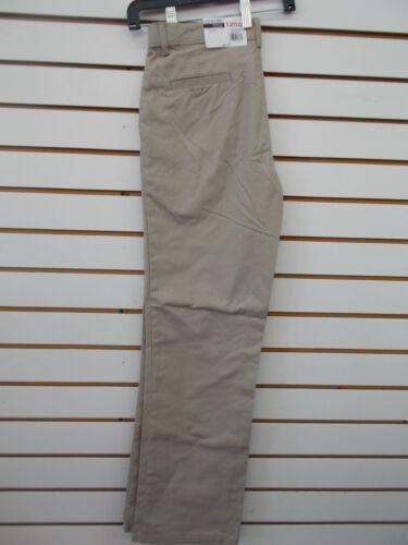 Boys IZOD $26-$34 Uniform//Casual Khaki Flat Front Pants Size 5-18