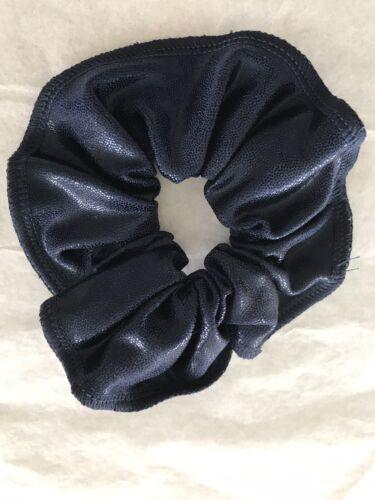 Navy Blue Shiny Hair Scrunchie Brand New