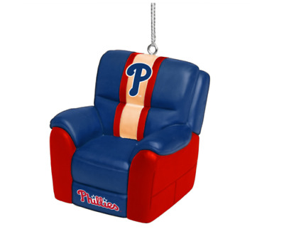 Philadelphia Phillies Reclining Chair Christmas Ornament ...