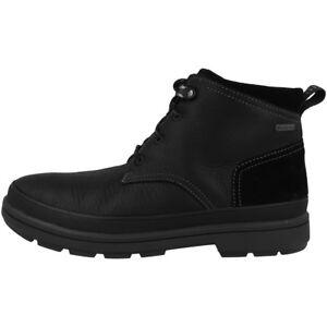 Clarks Rushway Mid Gtx Schuhe Herren Gore-tex Boots Stiefel Black 26137858