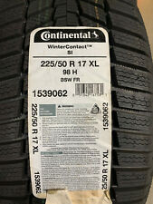 1 New 225 50 17 Continental Winter Contact Si Snow Tire Fits 22550r17