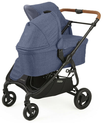 Valco Baby Snap Duo Trend Lightweight Twin Baby Double Stroller Denim NEW 2018