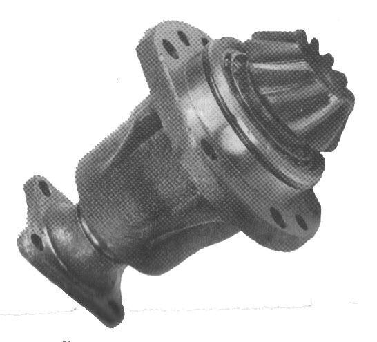 Antrieb Zahnrad mit Ritzel Achsantrieb kompl für Vorderachse MTS Belarus
