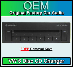 vw golf mk4 6 cd changer 6 disc cd player gamma beta. Black Bedroom Furniture Sets. Home Design Ideas