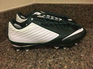 3ec440d6f2 Nike Vapor Speed Low TD Football Cleats White/Green 643152-113 Men ...