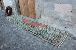 Vintage-Turkish-Handwoven-Oushak-Runner-Rug-10-039-7-034-x2-039-4-034