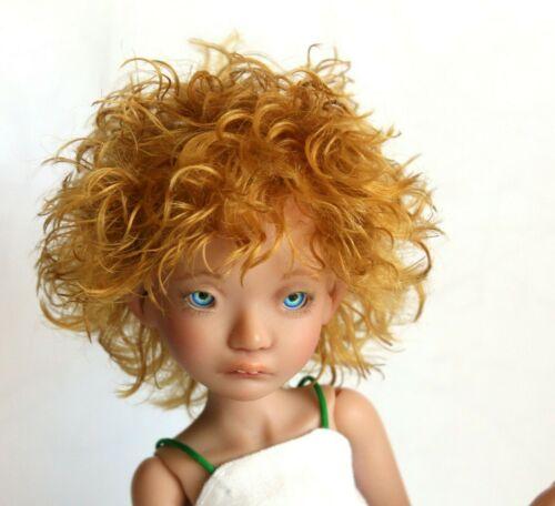 "Irrealdoll Enoki Wig /""Honey Ginger/"" Mohair Wig for Irrealdoll Enoki Wig 4.3 inch"