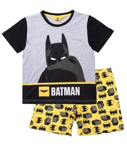 Boys Official Licensed Short Sleeve Summer Pyjamas PJs 3-12 Years