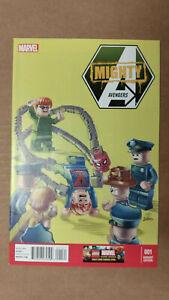 MIGHTY AVENGERS #1 1st Printing - LEGO Variant - Monica Rambeau    / 2013 Marvel
