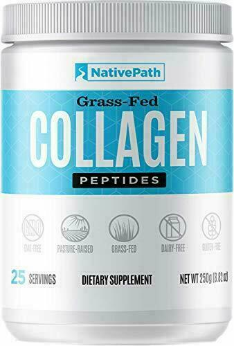 NativePath Grass Fed Collagen Peptides Types 1&3. Powder.8.8oz . New and sealed.