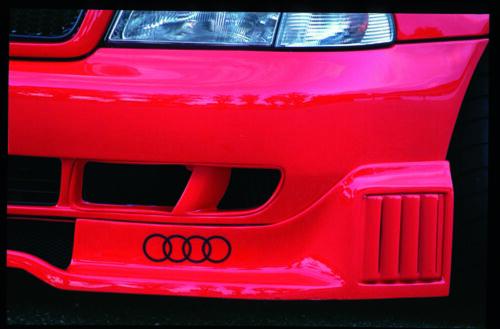 Rieger CUP Spoilerlippe für Audi A4 B5 8D STW Look Front Schwert Lippe Ansatz