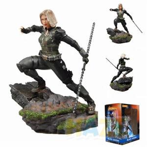 Avengers-Assemble-Widow-Figura-de-PVC-juguete-nuevo-Black-18cm-Nuevo-En-Caja