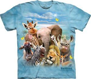 Adult Selfie Animal African Mountain T The Shirt Unisex fzRTZnxwq