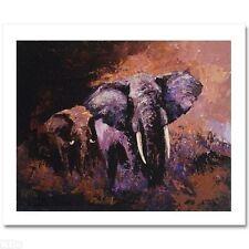 """""""Sundown"""" by Mark King LE CANVAS COA #25/95 No Reserve"""