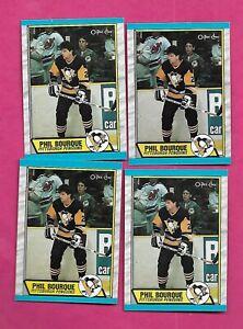 4-X-1989-90-OPC-19-PENGUINS-PHIL-BOURQUE-ROOKIE-NRMT-MT-CARD-INV-C2282
