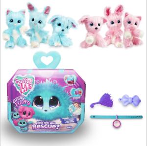 Scruff-A-Luvs-Pet-Soft-Toy-Worlds-Apart-Rescue-Rabbit-Cat-or-Dog-Aqua-Doll-Gift