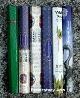 Kamini Incense Stick Sampler 6 X 20 Sticks = 120 Incense Hand Made Best Set {:-)