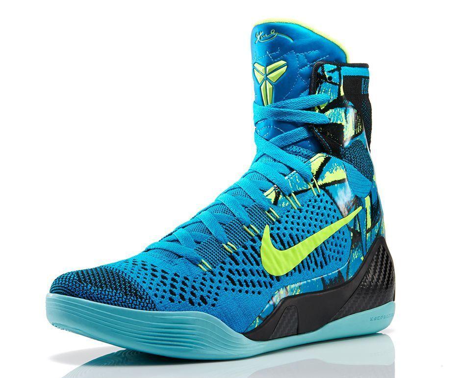 Nike Kobe 9 IX Elite Perspective Blue size 14. 630847-400 jordan beethoven bhm
