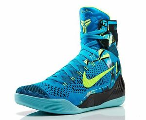 premium selection a144c 43aa2 Image is loading Nike-Kobe-9-IX-Elite-Perspective-Blue-size-