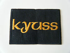 KYUSS PATCH Embroidered Iron On Sew On Stoner Fu Manchu Sleep Clutch Badge NEW