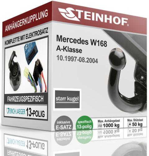 AHK fest Für Mercedes-BENZ W 168 10.1997-08.2004+E-SATZ 13p FAHRZEUGSPEZIFISCH
