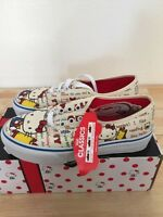Vans Authenitc Hello Kitty Red White Size 2y